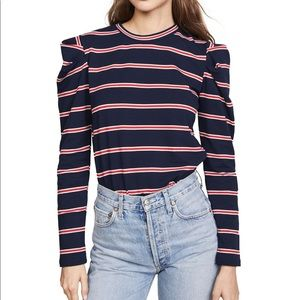 The Fifth Label Pleated Shoulder Top